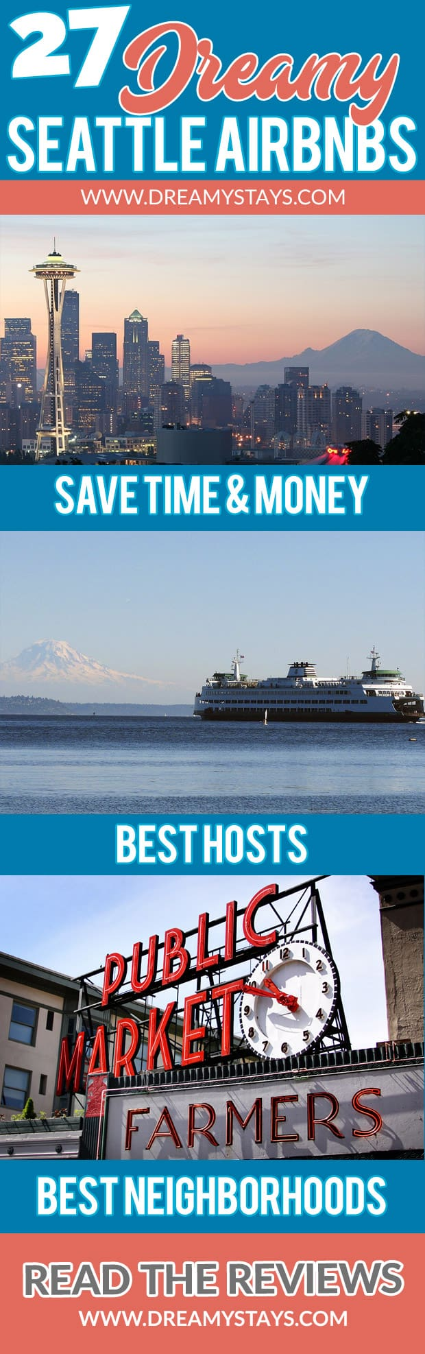 Wow! We found the Best Airbnb Seattle Deals. Save time searching!