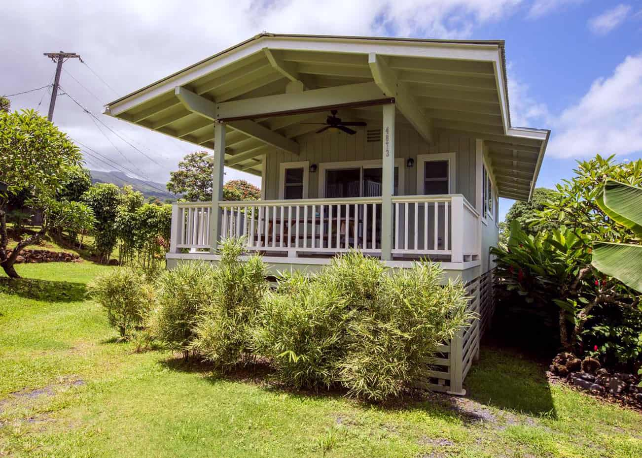 Cute Airbnb at the end of the road to Hana on Maui