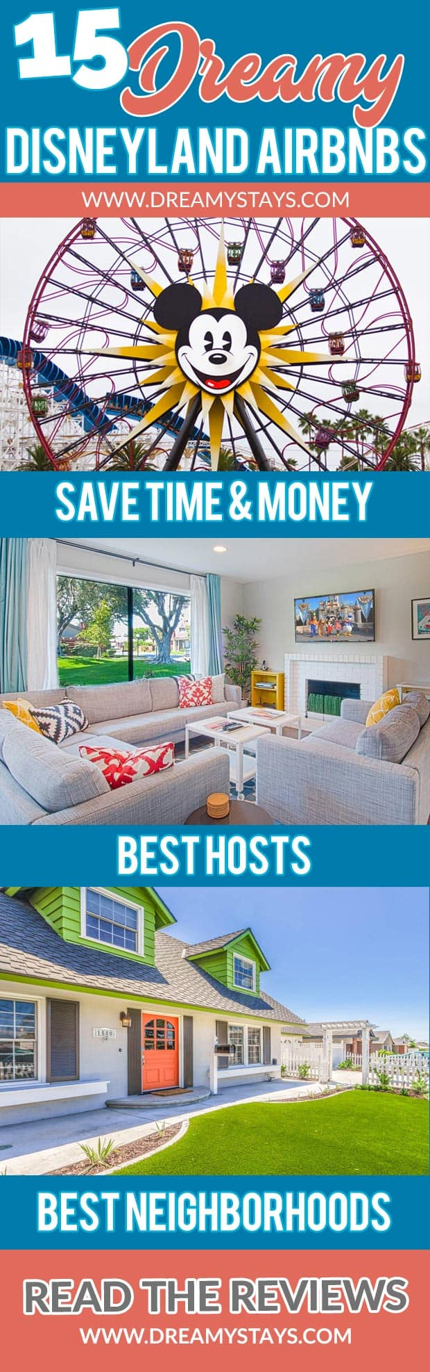 Wow! We found the Best Airbnb Disneyland Rentals. Save time searching!