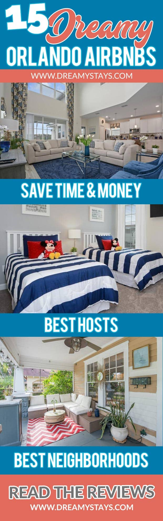Wow! We found the Best Airbnb Orlando Deals. Save time searching!