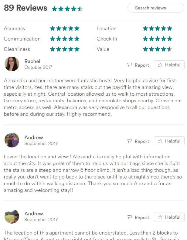 Airbnb Tip: Read All the Reviews! Probably the most important Airbnb tip