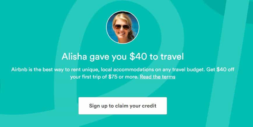 How to Receive a Free $40 Airbnb Coupon Code