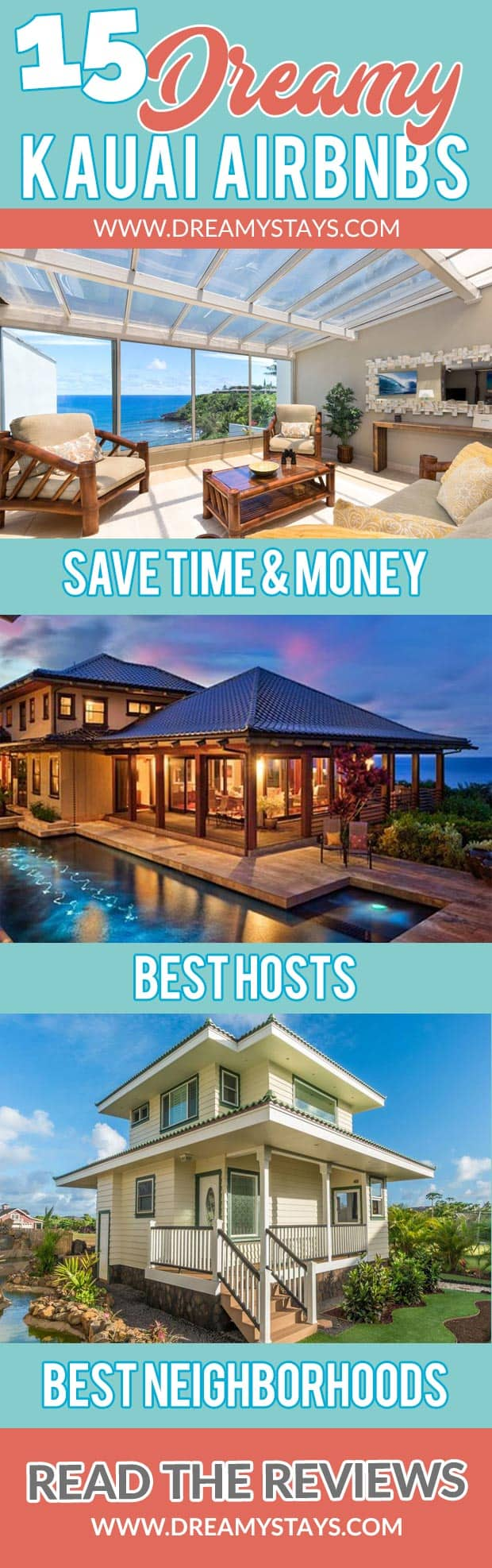 Wow! We found the Best Airbnb Kauai rentals. Save time searching!