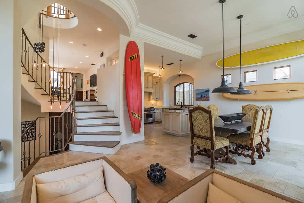 Dreamy! Luxury condo listed on Airbnb San Diego. Located on Coronado Island.
