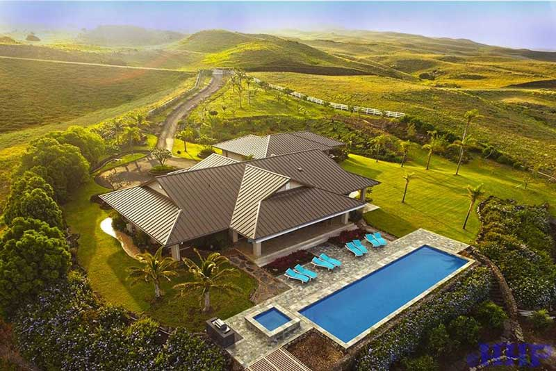 Dreamy! Luxury estate listed on Airbnb Hawaii.
