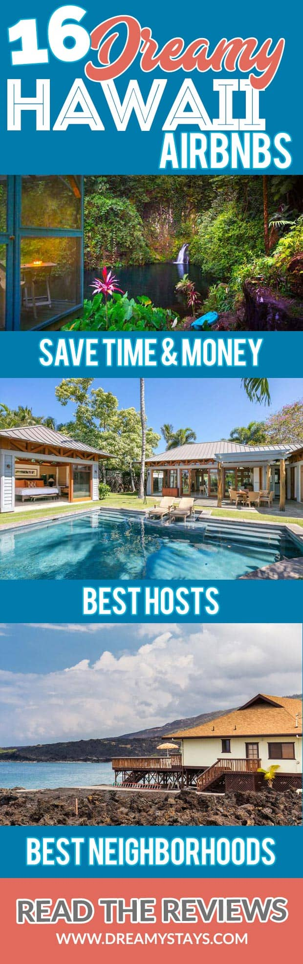 Wow! We found the Best Airbnb Hawaii rentals. Save time searching!