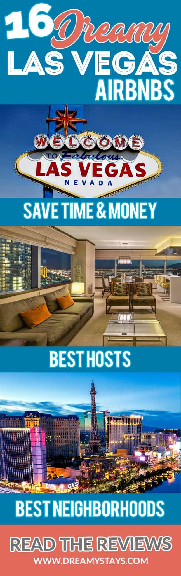 Wow! We found the Best Airbnb Las Vegas rentals. Save time searching!