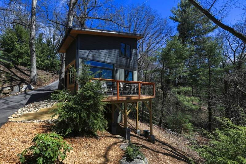 Check out this fantastic tiny house Airbnb near Asheville
