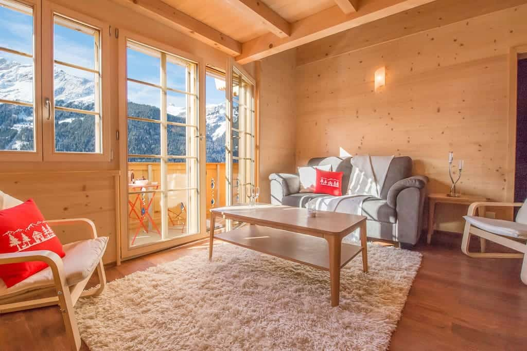 Wow! Look at these truly DREAMY Airbnbs in Lauterbrunnen, Switzerland! Save time on your search of the Jungfrau region and check out what we found.