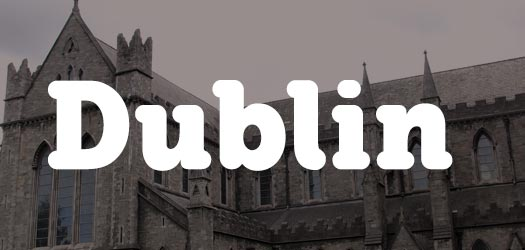 Free Dublin City Font for Download