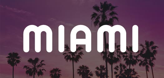 Free Miami Font for Download