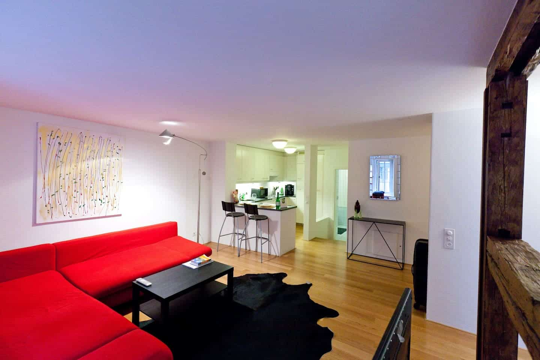 Image of Airbnb rental in Zürich Switzerland