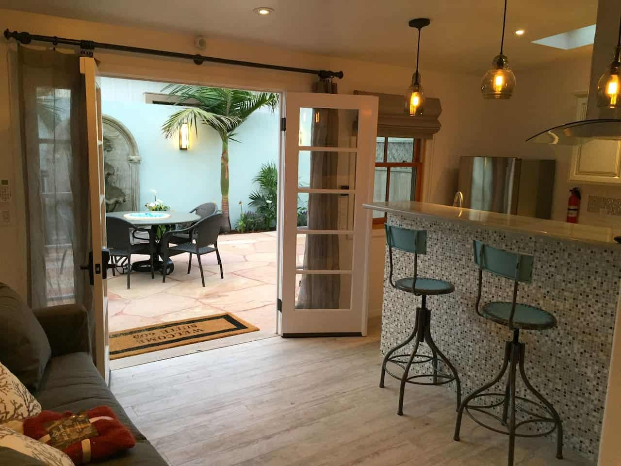 Image of Airbnb rental in Santa Barbara California