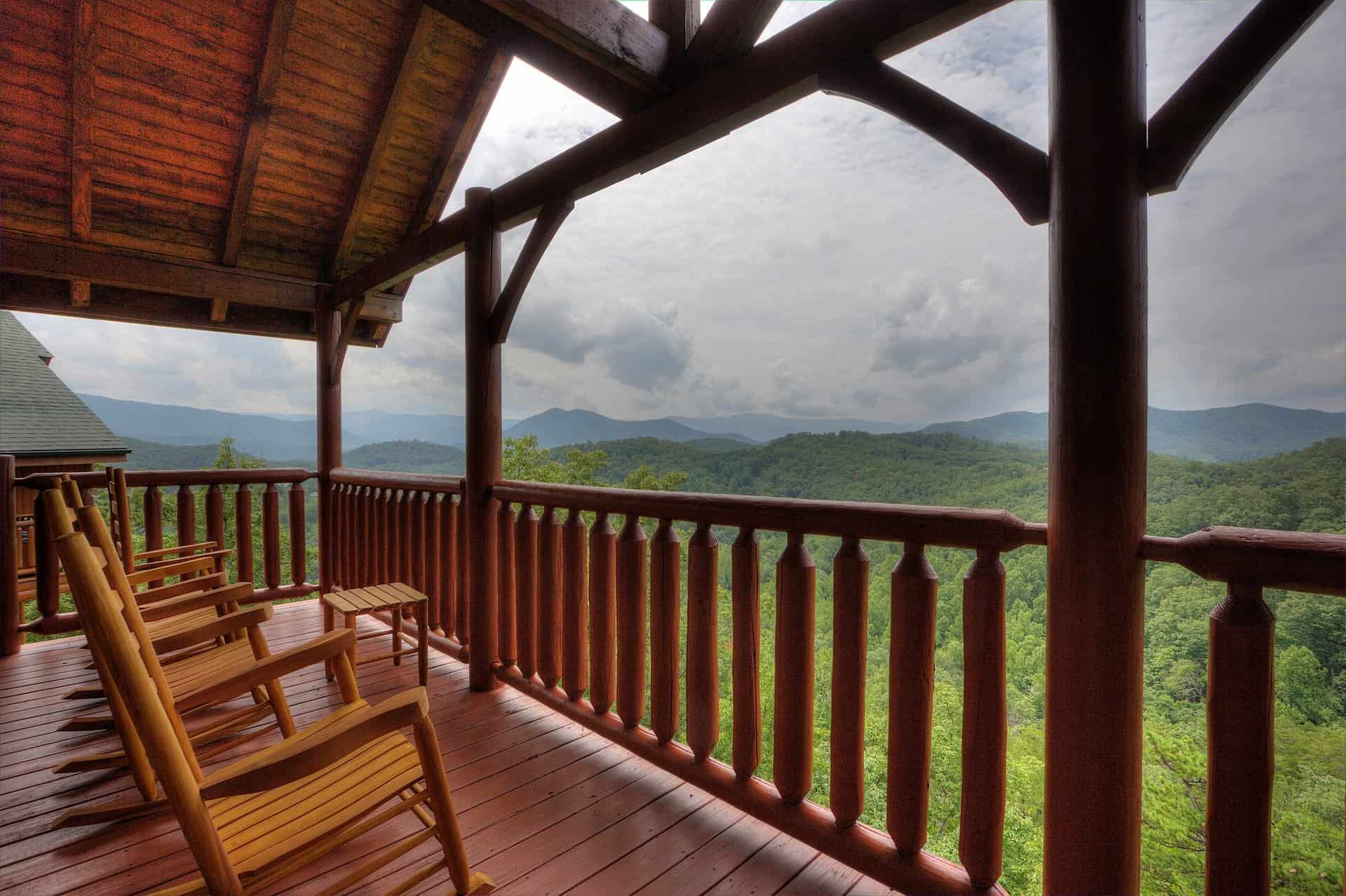 Image of luxury cabin in Sevierville, Tennessee