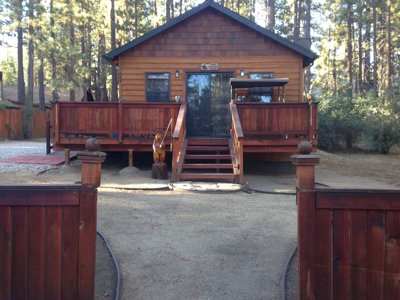 Image of Airbnb rental in Big Bear Lake California