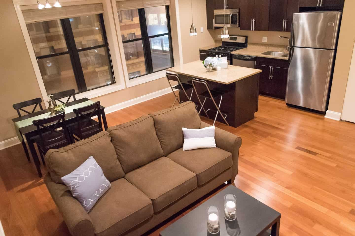 Image of Airbnb rental in Chicago, Illinois
