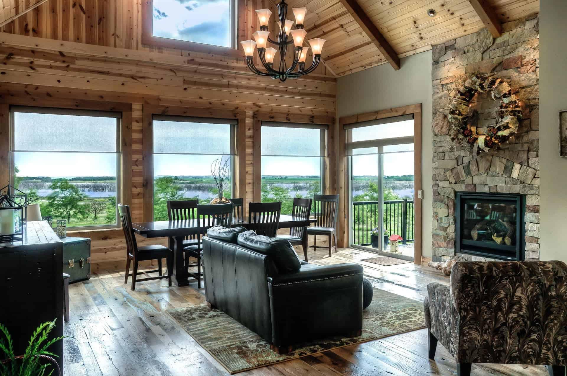 Image of luxury cabin in Omaha, Nebraska