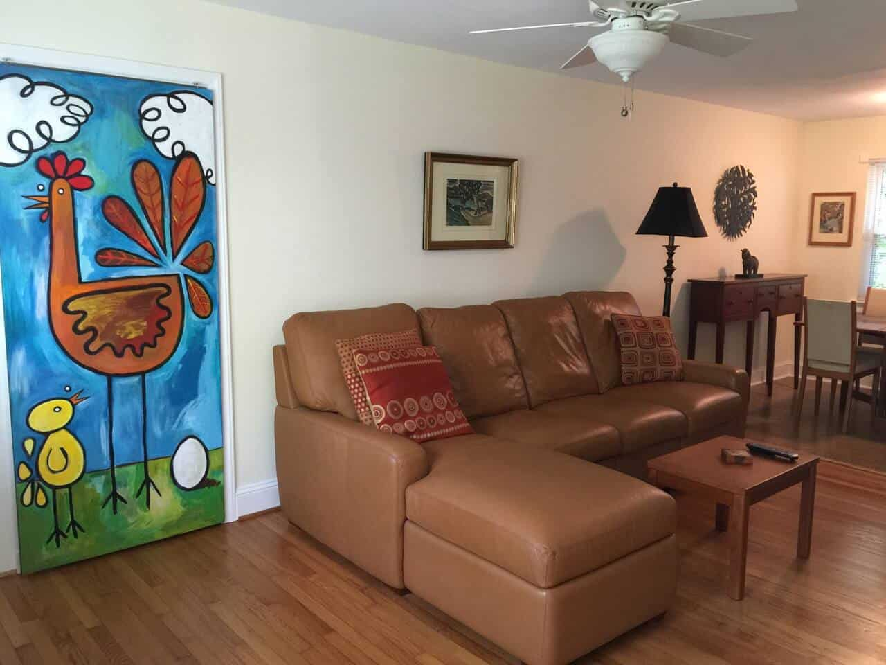 Image of Airbnb rental in Raleigh North Carolina