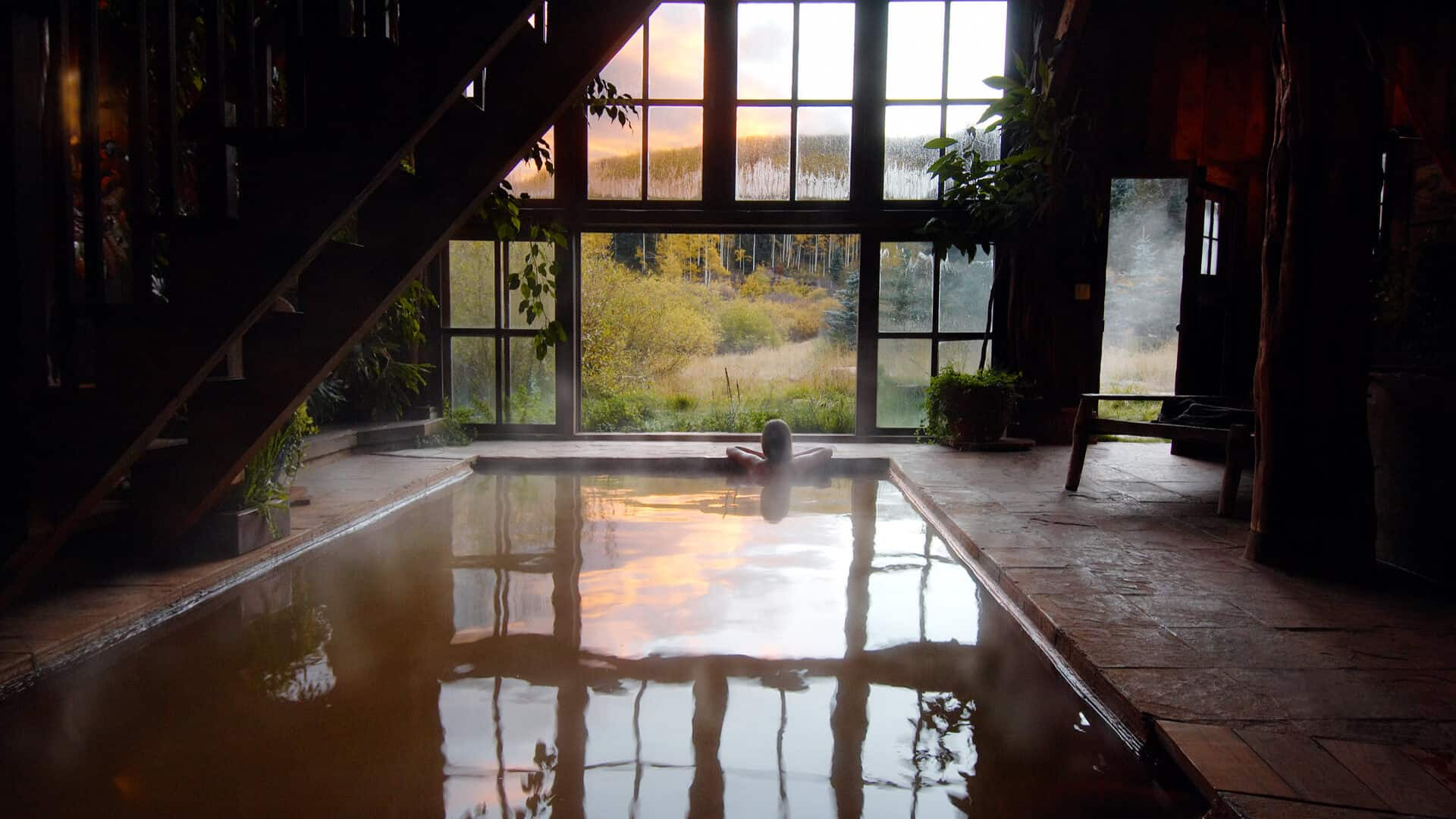 Image of hot springs resort in Dolores
