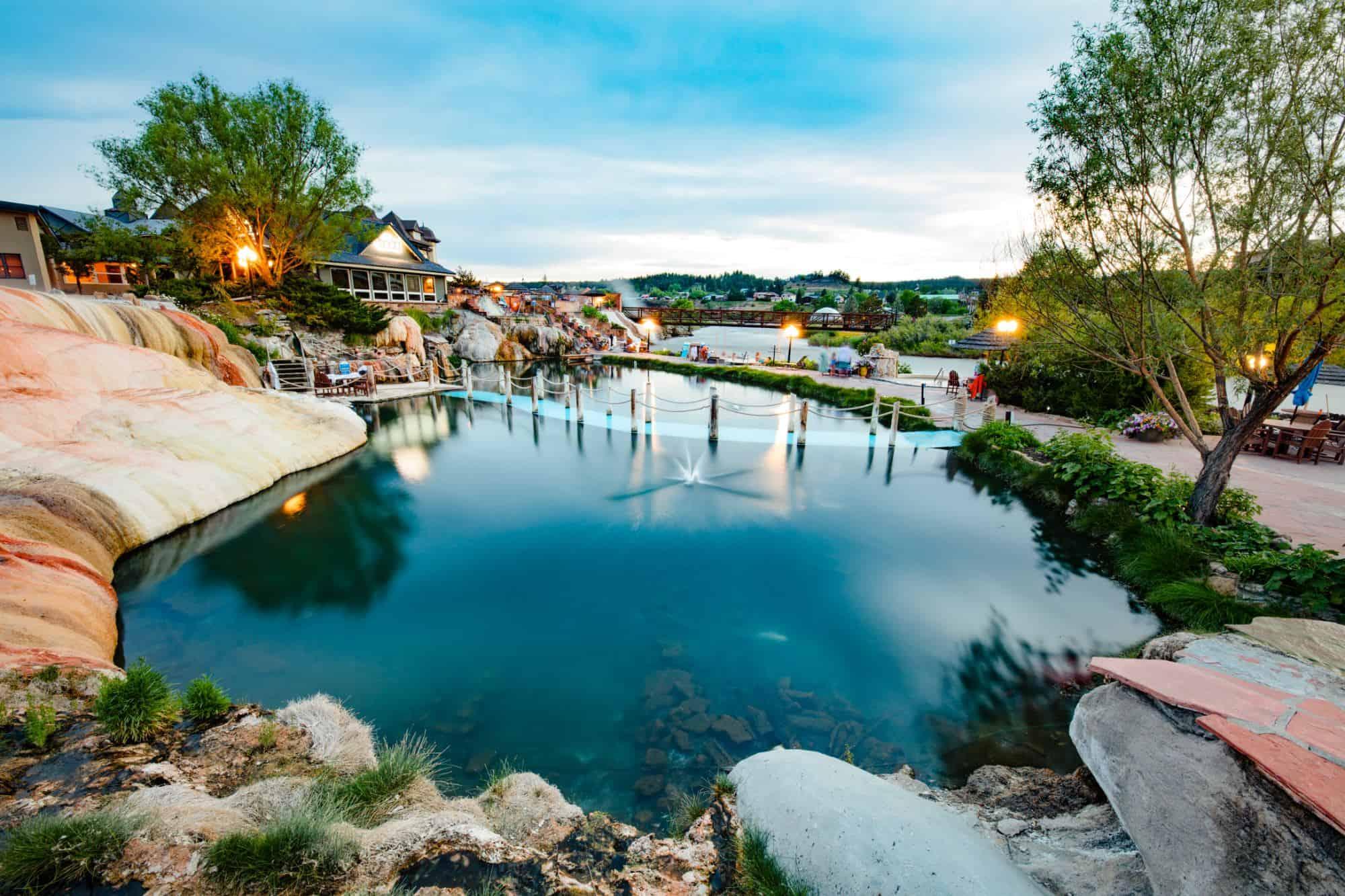 Image of hot springs resort in Pagosa Springs