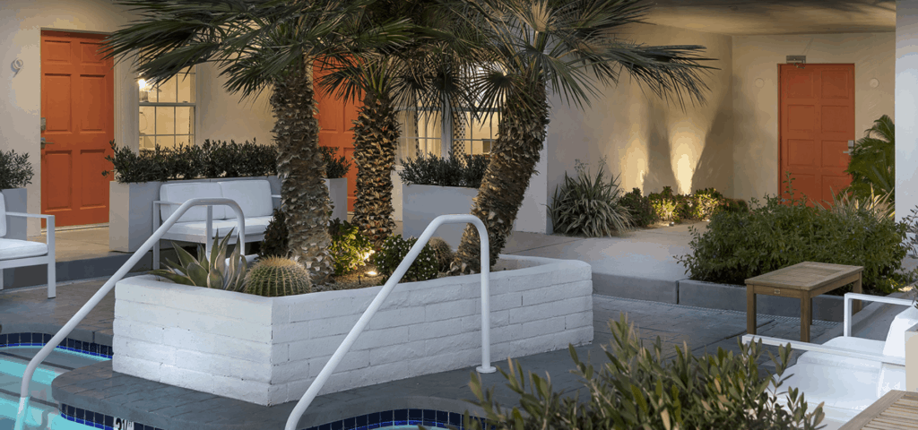 Poolside at The Weekend Palm Springs