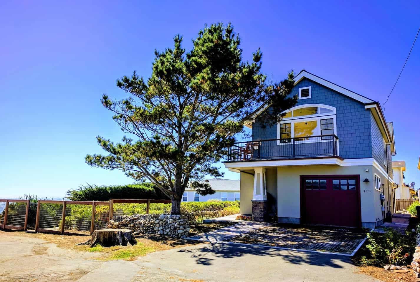 Image of Airbnb rental in Santa Cruz California