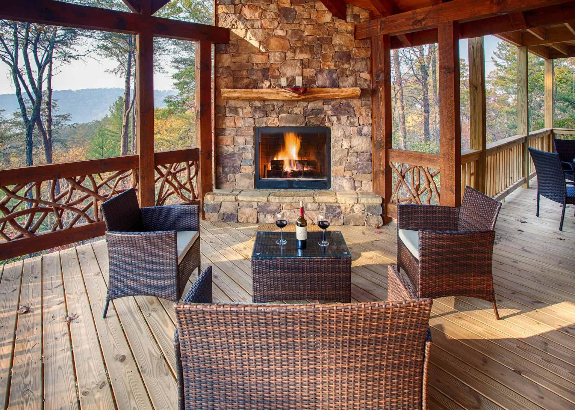 Image of luxury cabin in Blue Ridge, Georgia