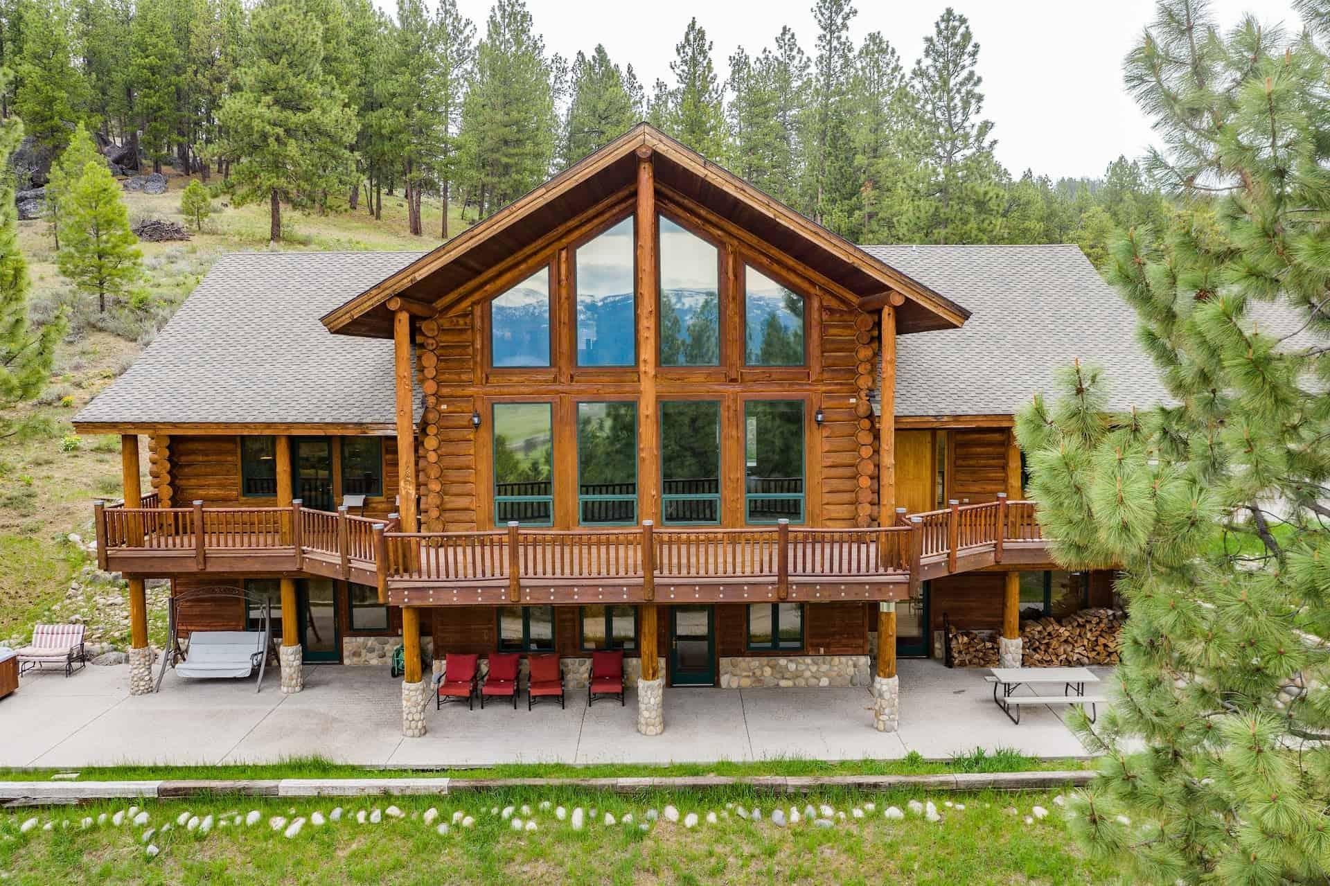 Image of luxury cabin in Cascade, Idaho