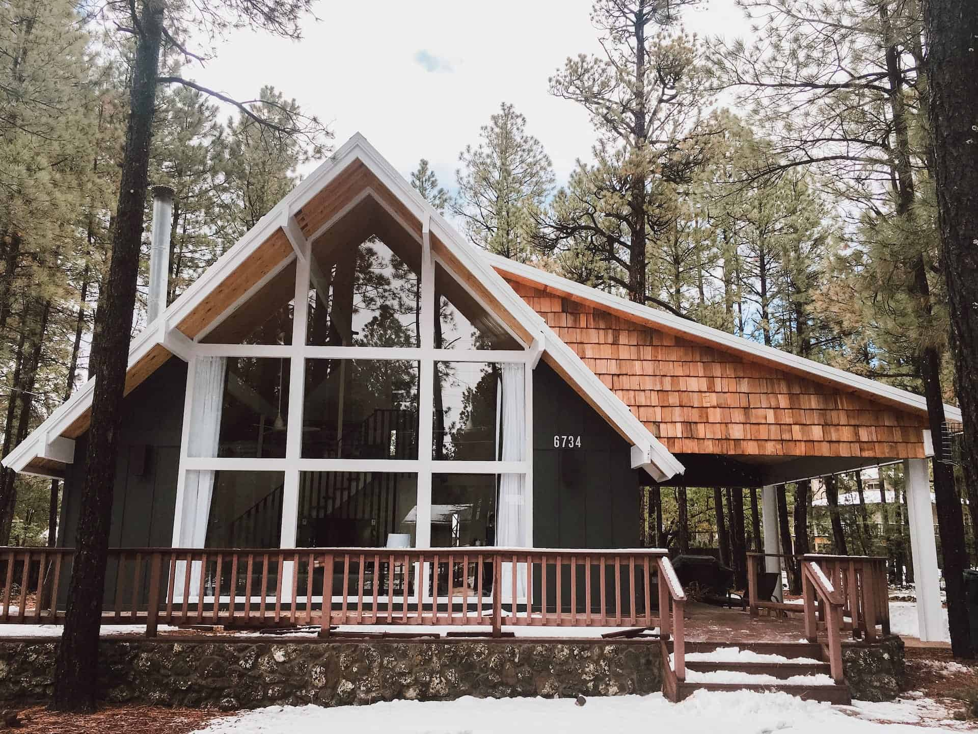 Image of luxury cabin in Pinetop, Arizona