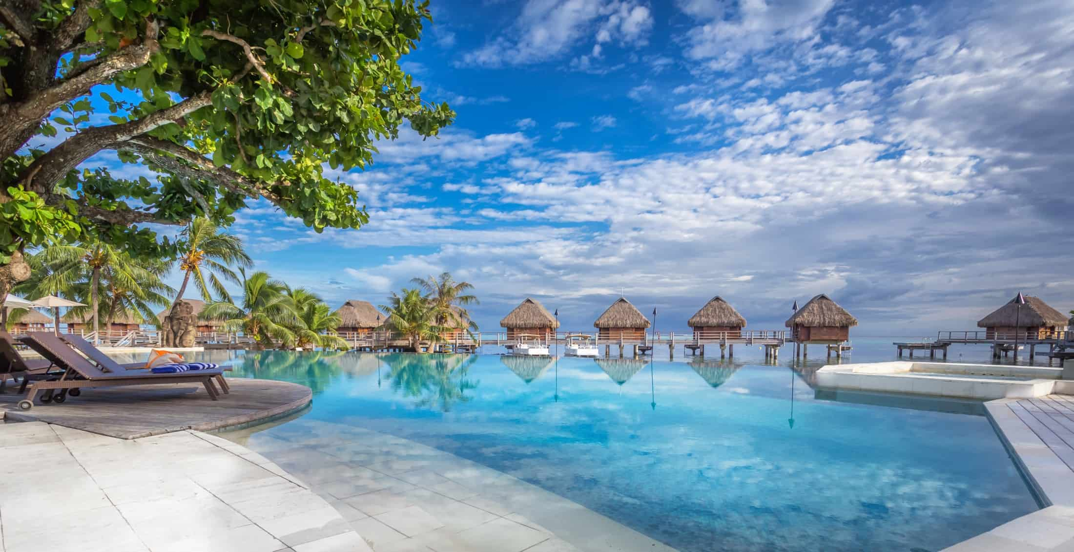 Image of overwater bungalows