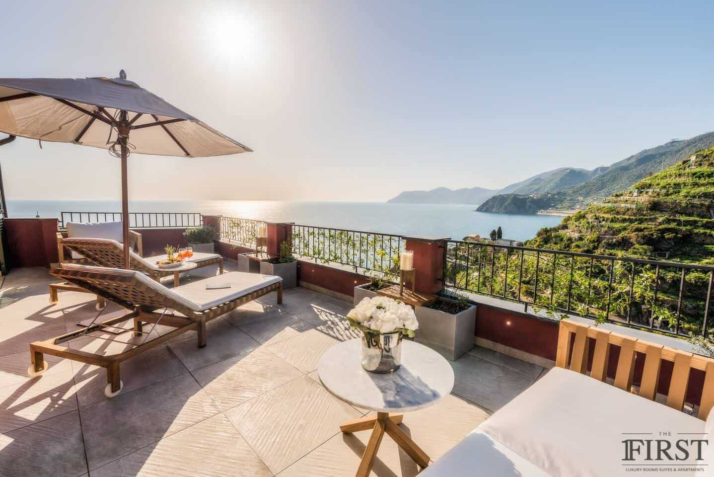 Image of Airbnb rental in Cinque Terre, Italy