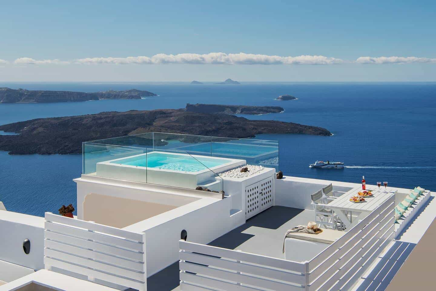 Image of Airbnb rental in Santorini, Greece