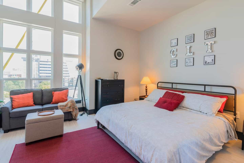 Image of Airbnb rental in Charlotte, North Carolina