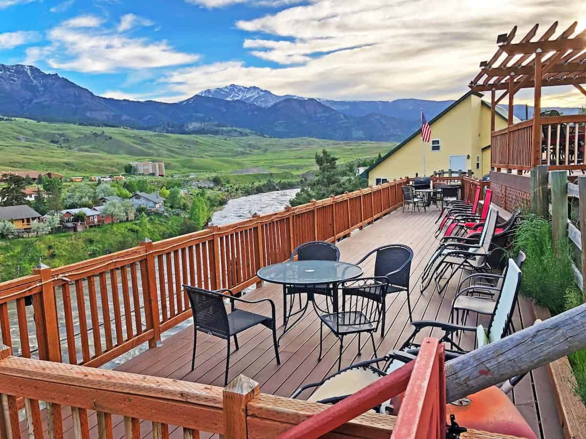 Image of Airbnb rental in Yellowstone, Wyoming