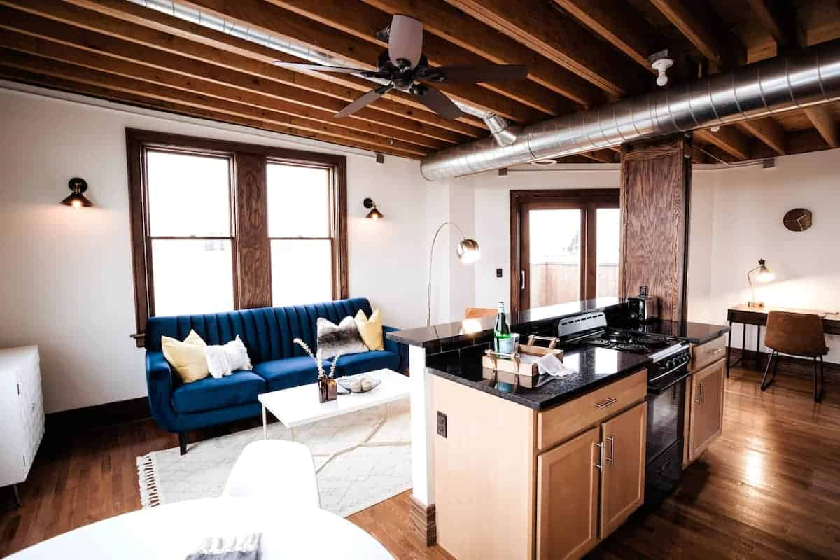 Image of Airbnb rental in Detroit, Michigan