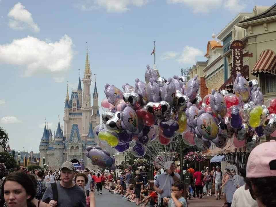 Walt Disney World image of Main Street USA