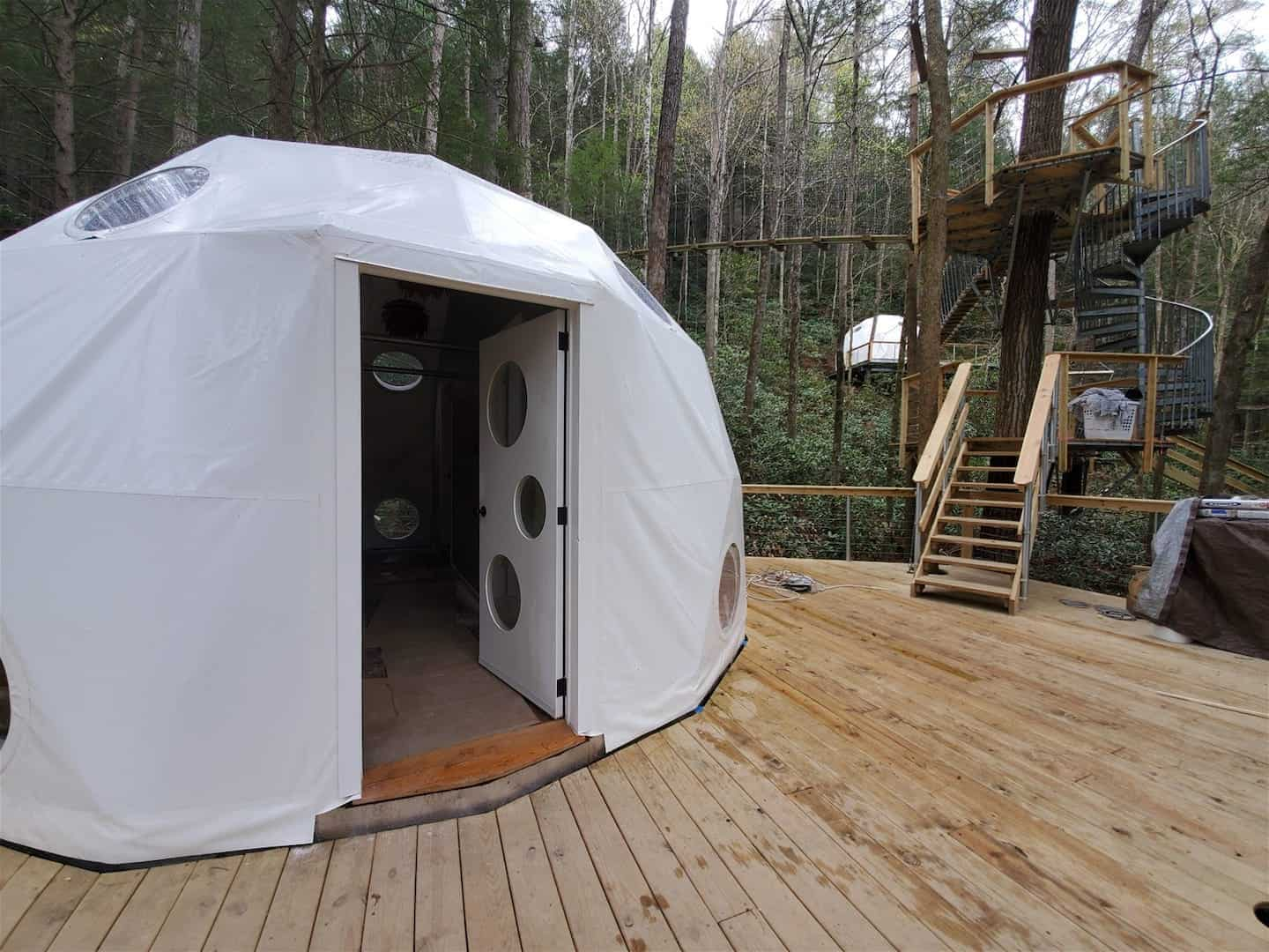 Image of treehouse rental in Kentucky