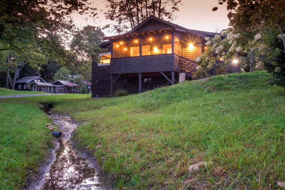 Image of Airbnb rental in Brevard, North Carolina