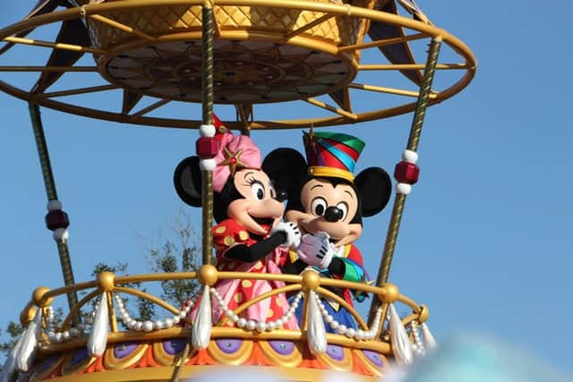 Mickey and Minnie Mouse in Orlando Florida