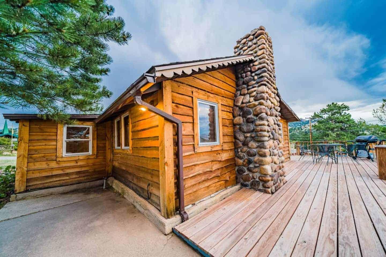 Image of cabin rental in Colorado