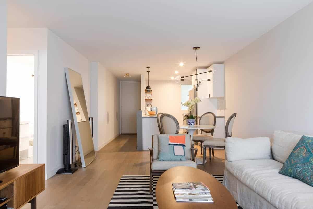 Image of Airbnb rental in Santa Monica, California