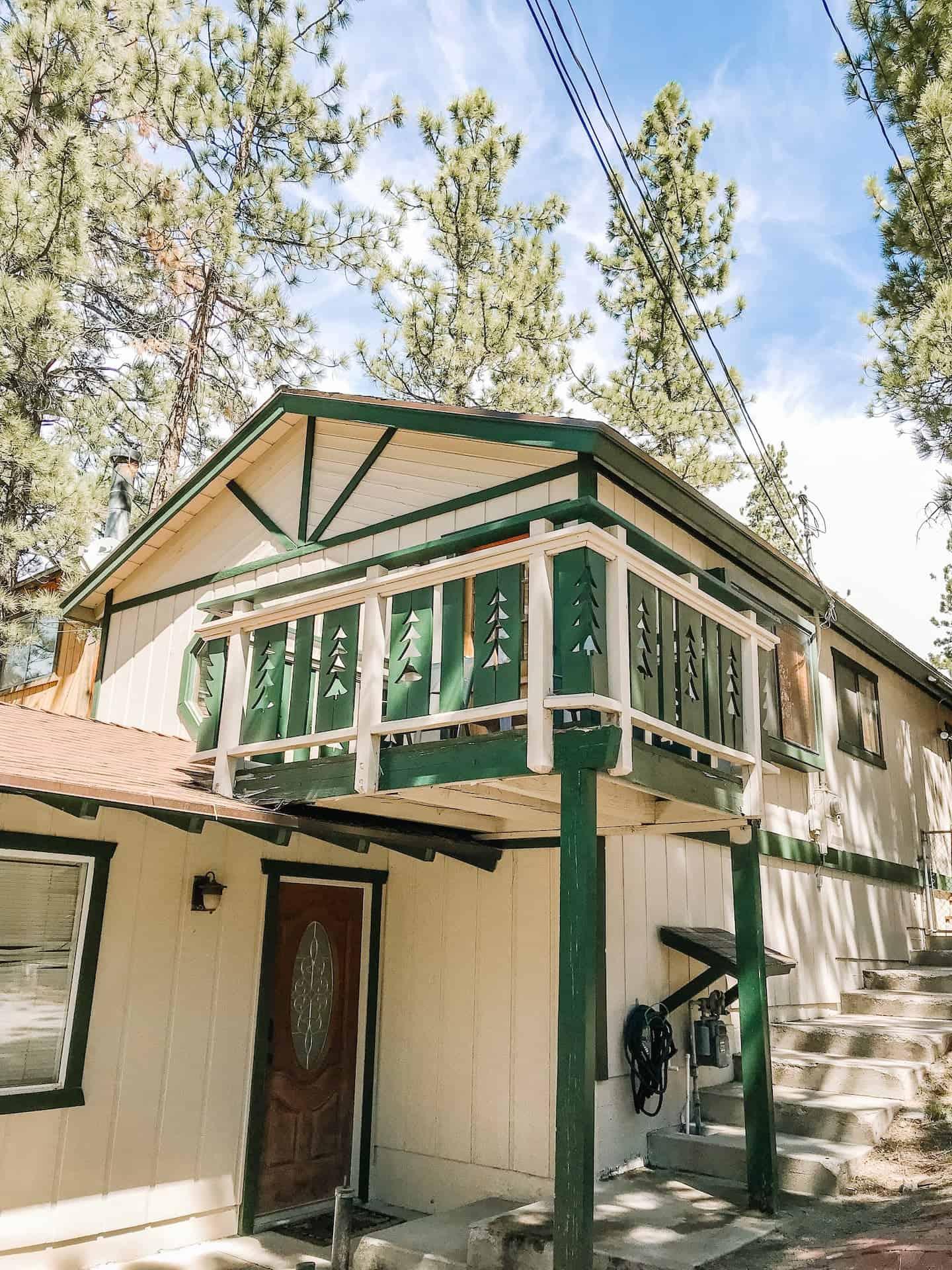 Image of cabin rental in Big Bear