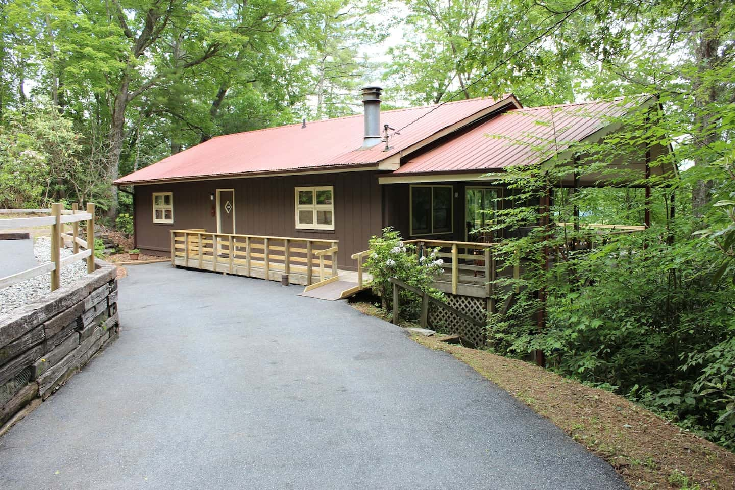 Image of cabin rental in North Carolina