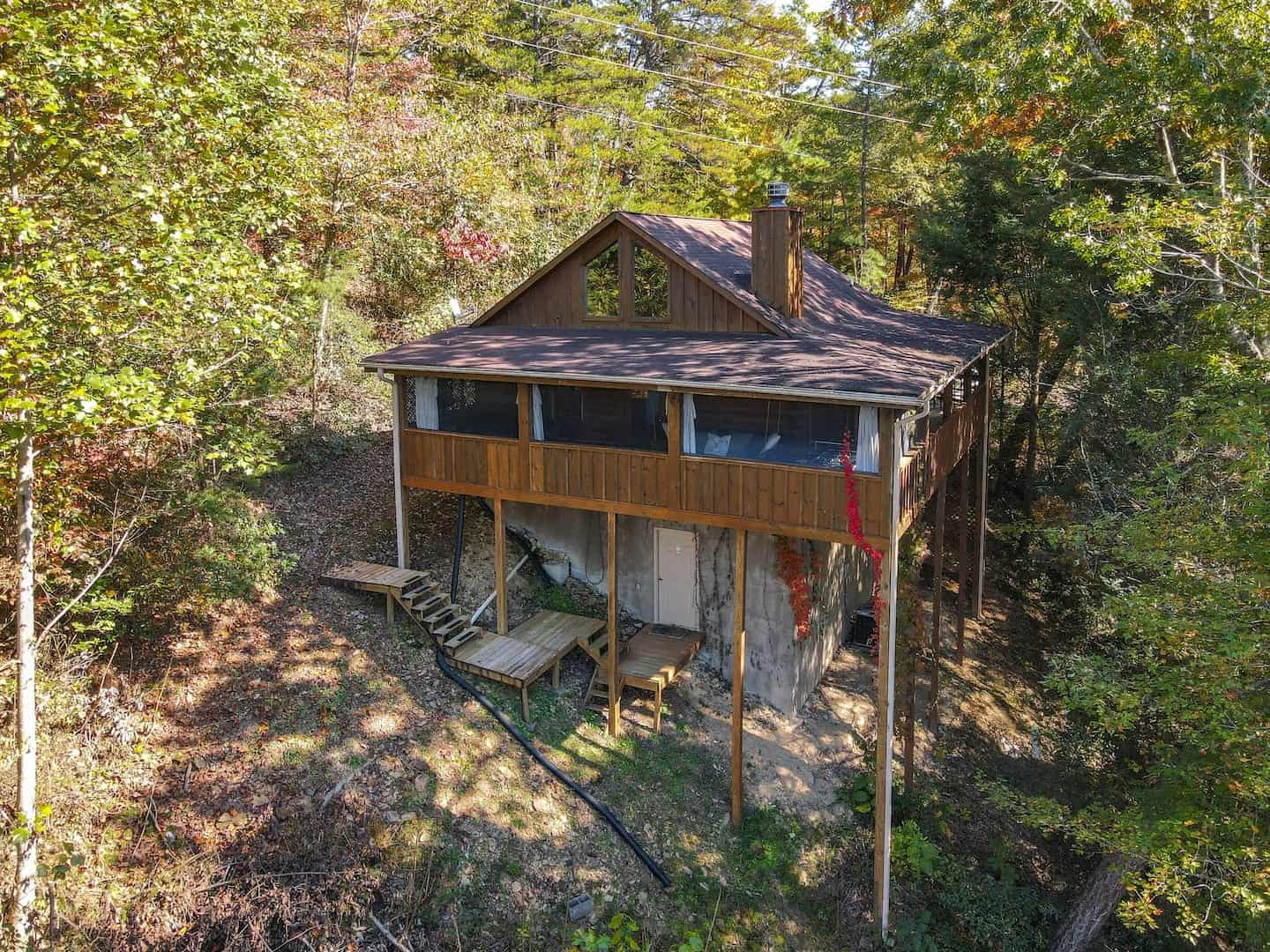 Image of cabin rental in Smoky Mountains
