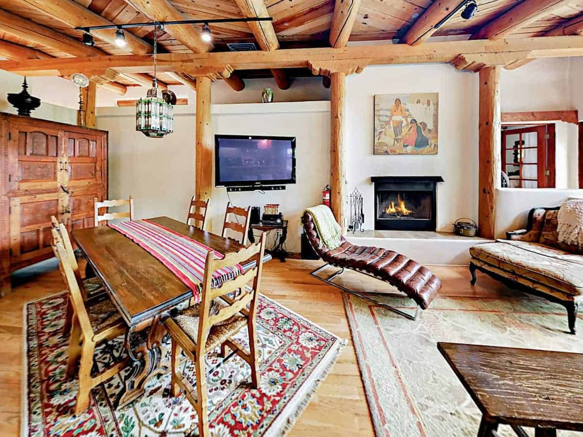 Image of Airbnb rental in Red River, New Mexico