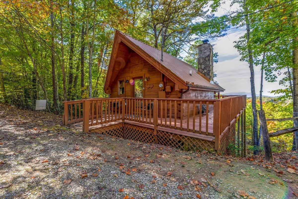 Image of cabin rental in Tennessee