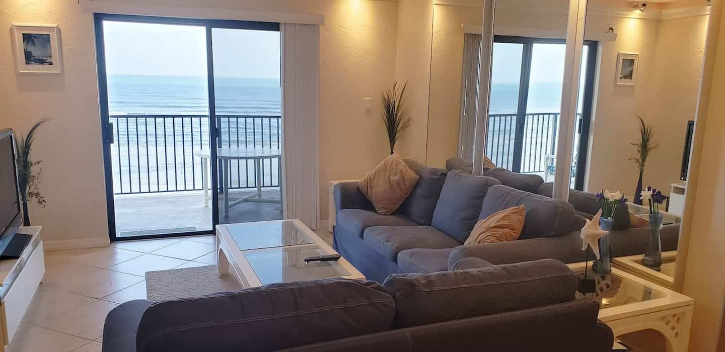 Image of Airbnb rental in New Smyrna Beach, Florida