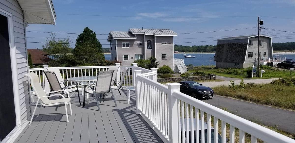 Image of beachfront rental in Maine