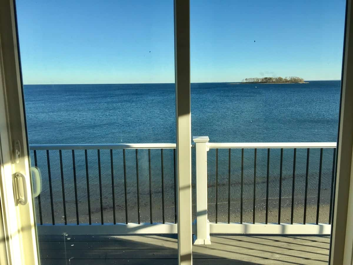 Image of beachfront rental in Connecticut