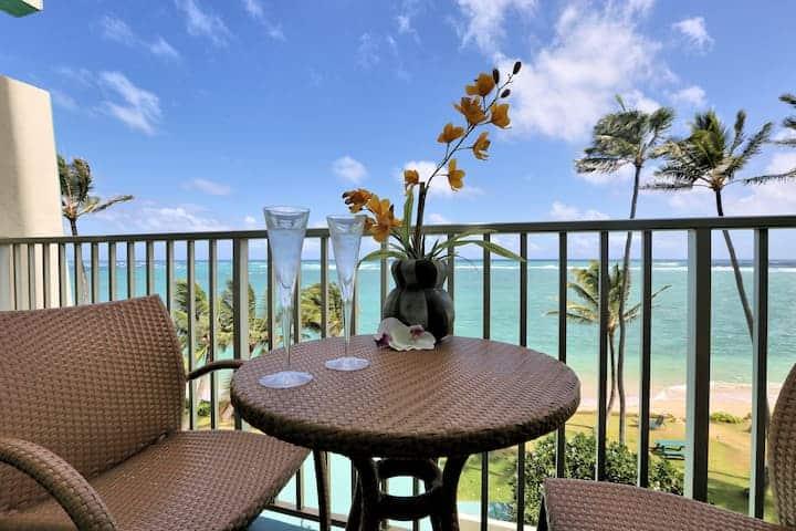 Image of beachfront rental in Oahu Hawaii